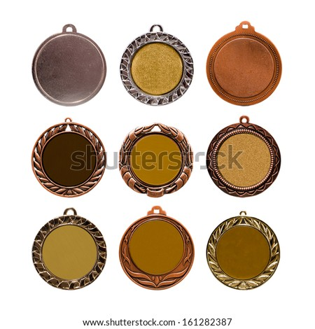 Collection of medals - stock photo