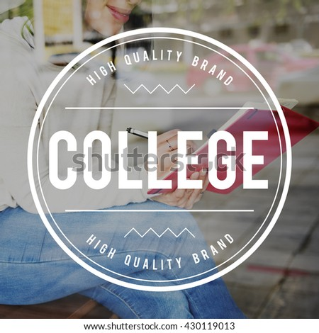 College University Education Knowledge School Study Concept - stock photo