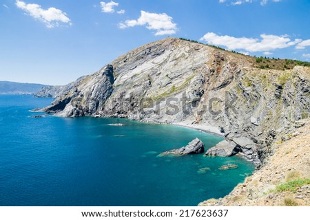 Collioure in France - stock photo