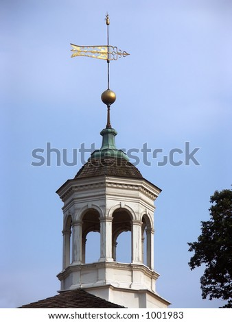 Colonial Weather Vane - stock photo