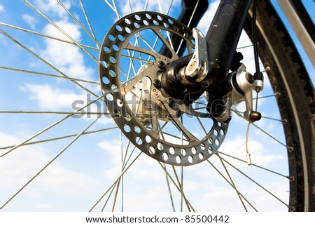 color bike in sunny day, bike series, - stock photo