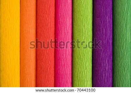 color blotting paper - stock photo