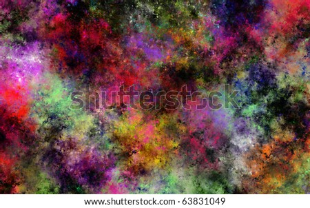 Color Explosion - stock photo