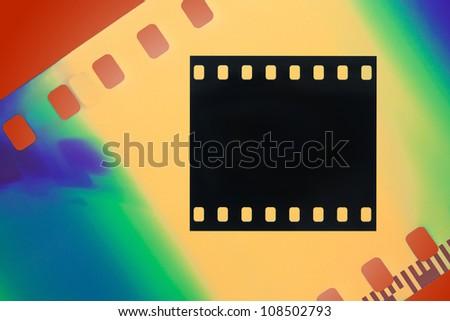 Color film - stock photo