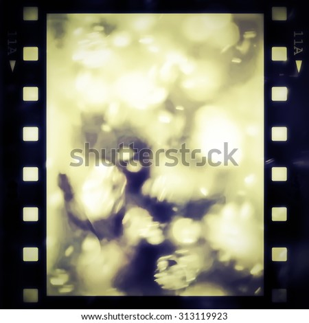 color film strip background and texture - stock photo