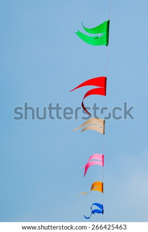 color flag  - stock photo
