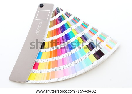 color guide - stock photo