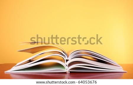 Color magazines - stock photo