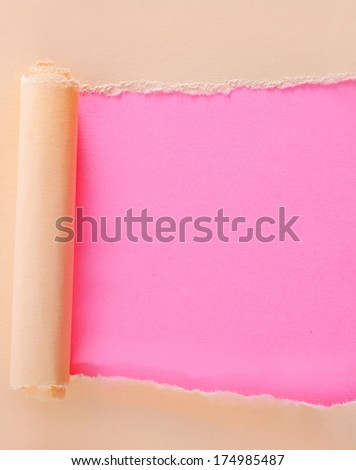 color paper - stock photo