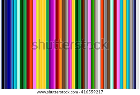 color pencils background, colored pencils or color pencils, with colorful pencils, pencils straight from top to bottom with pencils laying next to each pencil for pencil background and pencil texture - stock photo