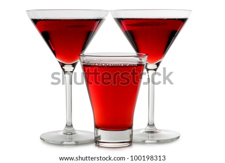 Color photo of a glass of wine - stock photo