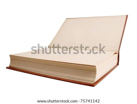 Color photo of an old classic book - stock photo