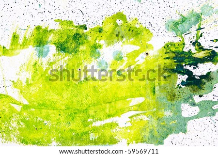 color spot, watercolor abstract hand painted background - stock photo