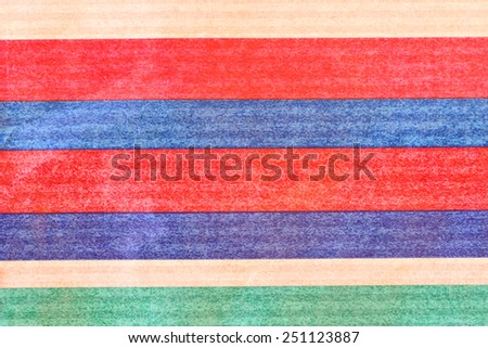 Color stripes wrap paper texture or background.  Close up - stock photo
