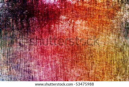 Color wall - stock photo