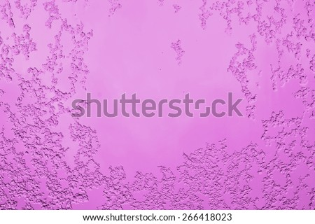 color wall with scratches, background or texture - stock photo