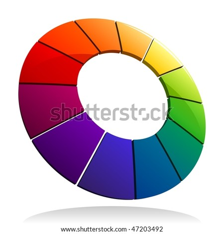 Color Wheel 3D See My Portfolio For More Wheels