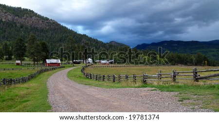 Colorado Homestead - stock photo