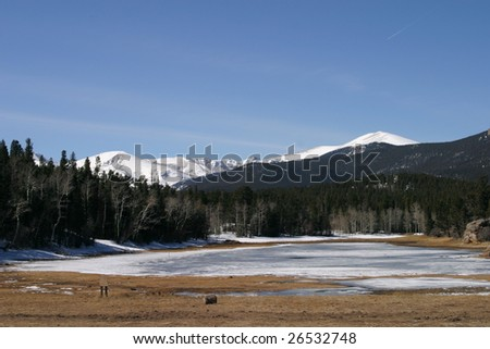 Colorado Mountains - stock photo
