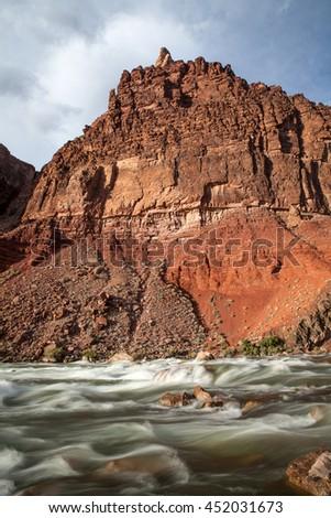 Colorado River in the Grand Canyon, Arizona, USA - stock photo