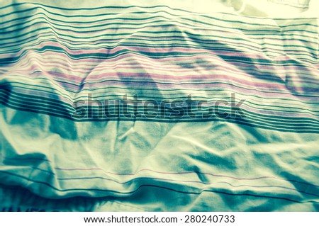 Colored clothes background line pattern - stock photo