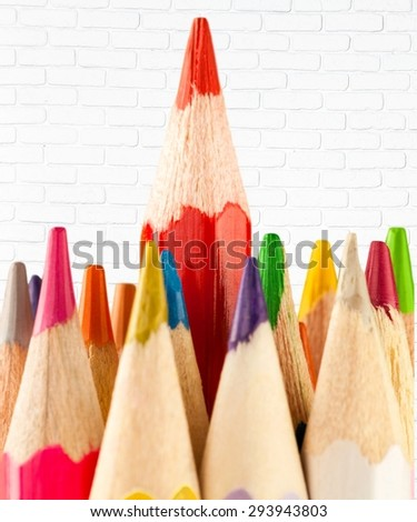 Colored, colour, color. - stock photo