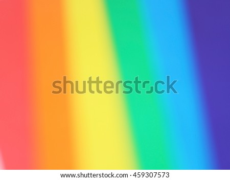 Colored paper defocused background - stock photo