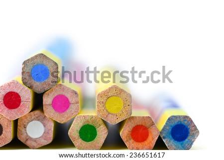 Colored Pencils - stock photo