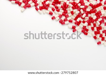 colored pills - stock photo