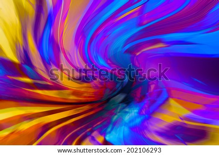 Colorful abstract background, Beautiful rays of light. - stock photo