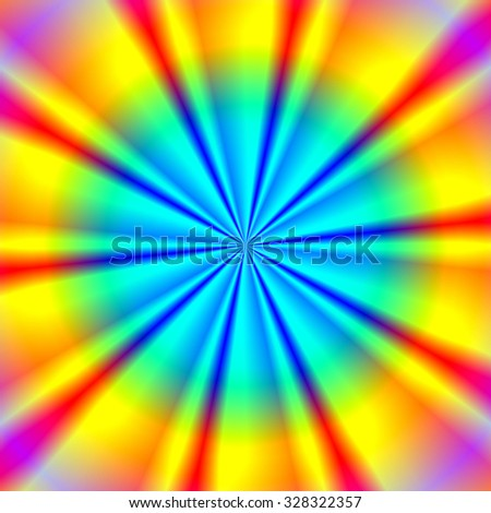 Colorful abstract background. Raster version. - stock photo