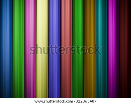 Colorful abstract background with vertical lines for your design - stock photo