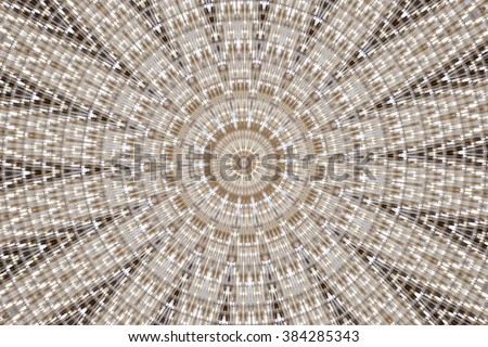 colorful abstract design in shades of brown  - stock photo