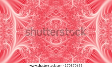 Colorful Abstract Fractal Background - stock photo