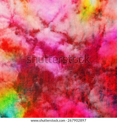 colorful abstract  fun  background - stock photo