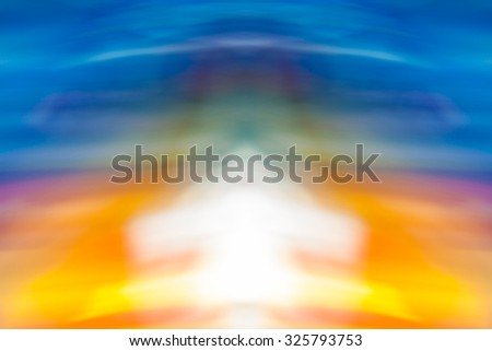 Colorful abstract light vivid color blurred background for use in your design. Creative graphic design. - stock photo