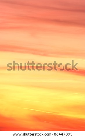 Colorful abstract sky background - stock photo