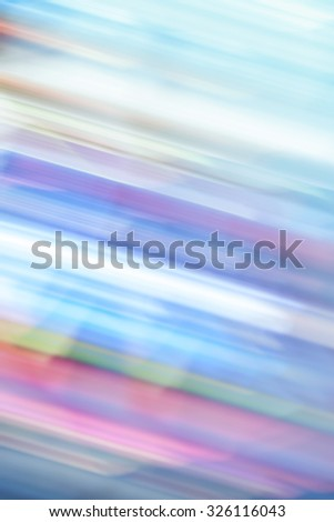 Colorful abstract speed and movement light vivid color blurred background. Creative graphic design and soft multicolored tone color style. - stock photo