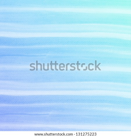colorful Abstract water color art hand paint background - stock photo
