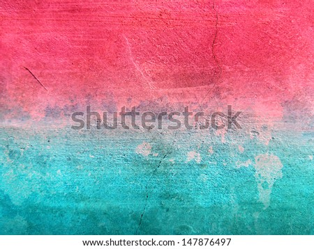 Colorful Background Cement Surface - stock photo