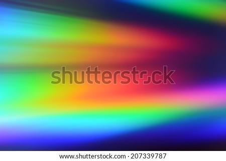 colorful background light reflection  - stock photo