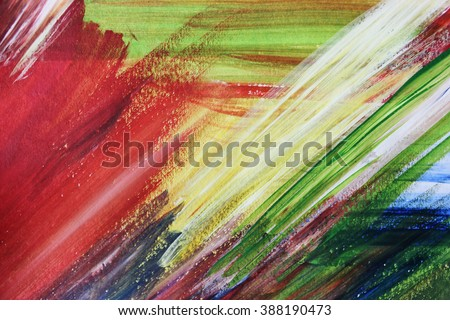 Colorful backgrounds or Drawing, Creative background, Spring backgrounds, Cover design, Summer background, Summer time, Hot summer, Creative abstract art, Be creative, Create, Art school, Fresh - stock photo