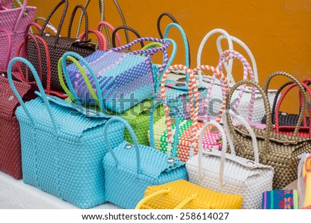 Colorful Bags - stock photo