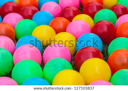 colorful  ball - stock photo