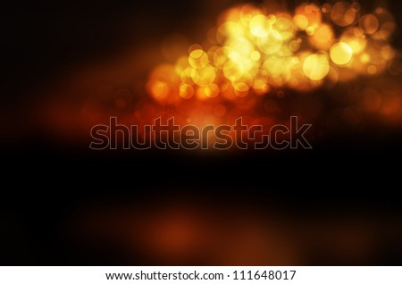 colorful bokeh abstract background. - stock photo