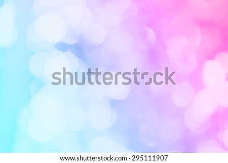 colorful bokeh glitter defocused lights abstract background - stock photo