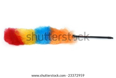 Colorful brush - stock photo