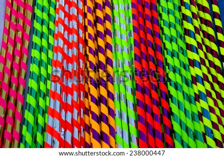 colorful candies paper in fair background. Sweets in fair paper background - stock photo