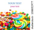 colorful candy - stock photo