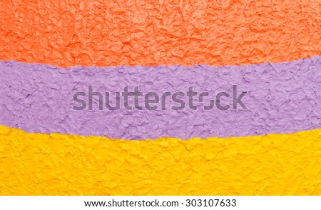 colorful cement wall texture - stock photo